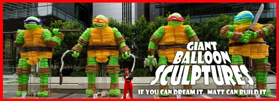 Giant Balloon Sculptures